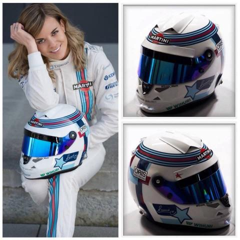 Susie Wolff Helmet